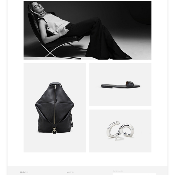 Reservoir Design & Development On The Shopify Platform. Photography, branding & Art Direction.