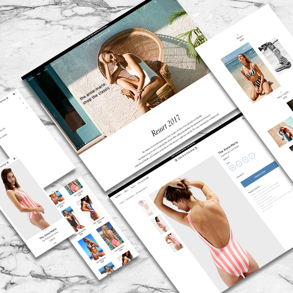 Solid & Striped Design & Development On The Shopify Platform