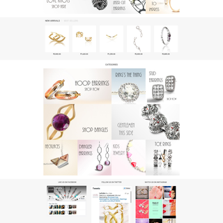 Lecalla.in (Jewellery website design)