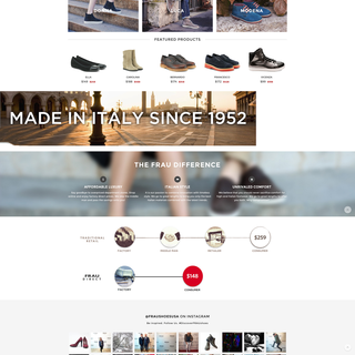 MuktiStudios - Ecommerce Designer / Developer / Photographer - Frau Shoes USA