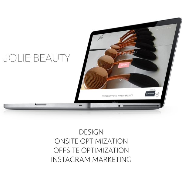 Jolie Beauty - Number one in Google UK search for their desired terms.