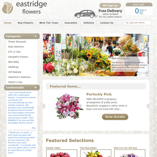 Eastridge Flowers - Auckland flower delivery. www.eastridgeflowers.co.nz