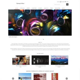 Responsive Shopify Store - Art / Specialty - Eyemage.gallery