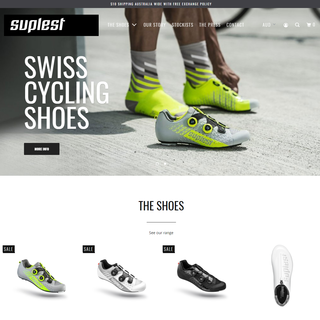 Suplest - Swiss Cycling Shoes