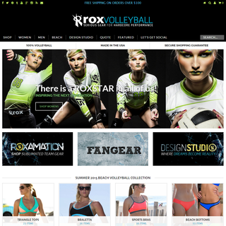 ROX Volleyball - Performance Sports Gear