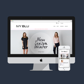 Ivy Blu // Theme Customisation