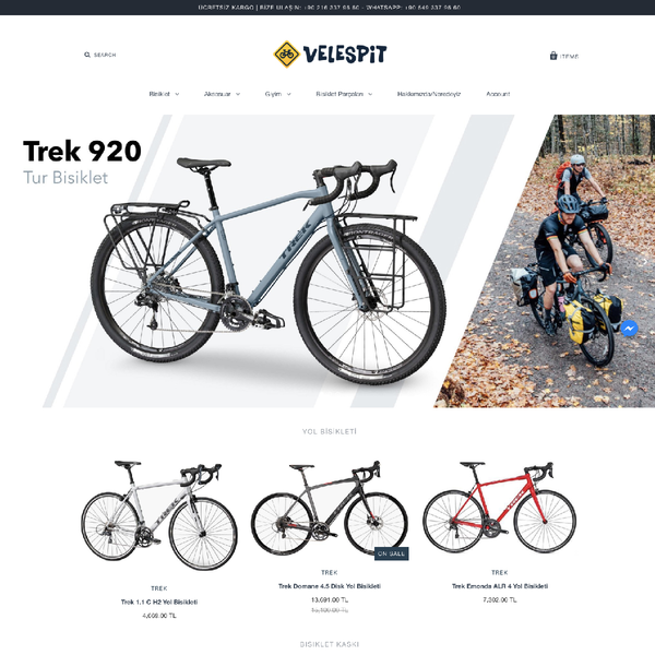 velespit.com - Velespit Bicycle Retailer