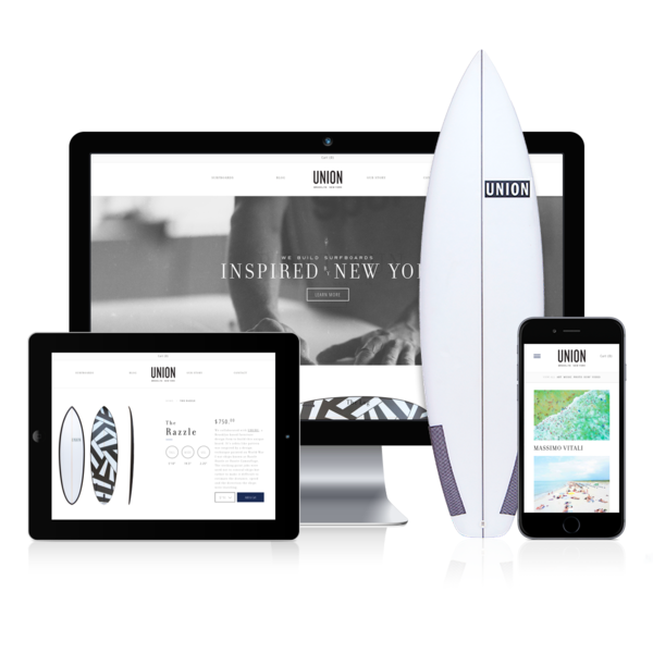 Union Surfboards: Collaborative Surfboard Design