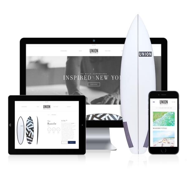 Union Surfboards: Collaborative Surfboard Design