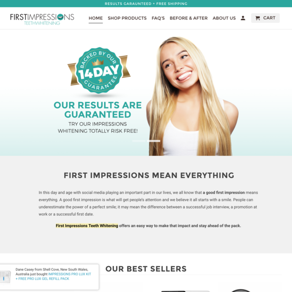 First Impressions Teeth Whitening - https://firstimpressionsteethwhitening.com.au/