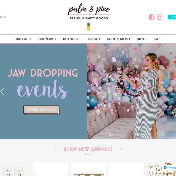 Palm & Pine Party co. - https://www.palmandpine.com.au/