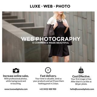 Luxe Web Photo - Ecommerce Photographer -