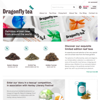 Dragonfly Teas - 100 years of heritage brought into the digital age