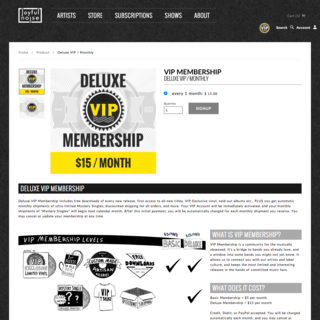Rivet Creative Group, LLC - Ecommerce Designer / Developer / Setup Expert - Re-occurring revenue with exclusive subscription products and content through custom VIP programs.