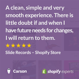 Slide Records – Shopify Store