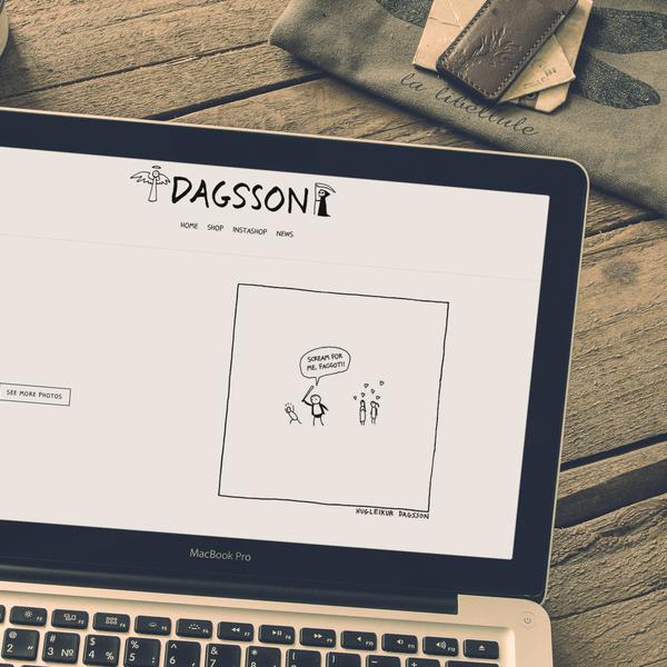 dagsson.com
