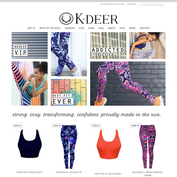 K-Deer Haute Yoga Wear