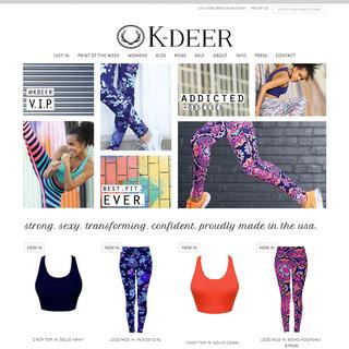 Truax & Company - Ecommerce Setup Expert - K-Deer Haute Yoga Wear