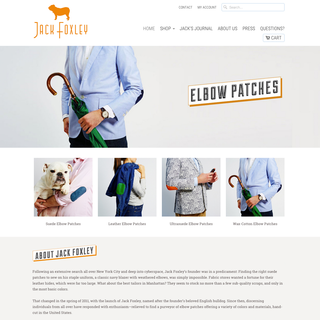 Truax & Company - Ecommerce Setup Expert - Jack Foxley Elbow Patches