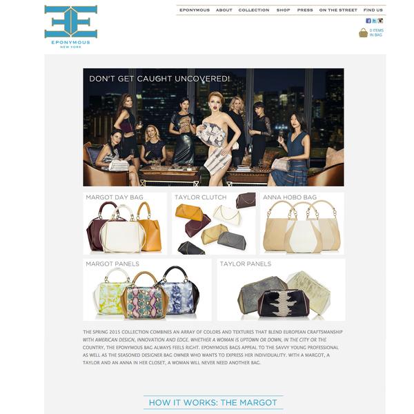 Eponymous New York Luxury Handbags