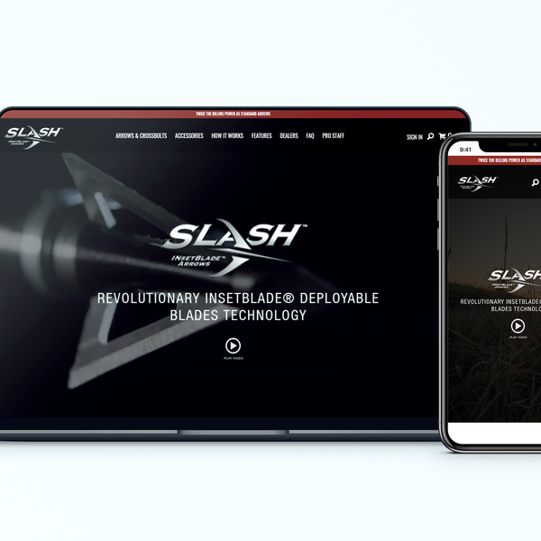SlashArrows makes hunting's newest, most effective arrow!