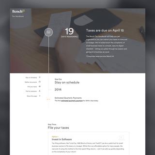 Corknine - Ecommerce Designer / Developer / Marketer / Setup Expert - http://bench.co