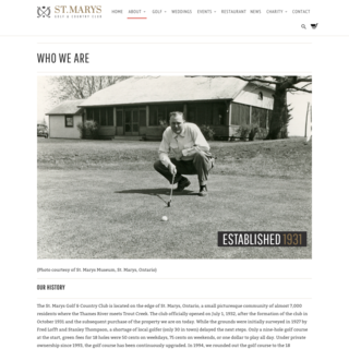 Ellipsis Digital - Ecommerce Marketer - St.Mary's Golf & Country Club - Who We Are