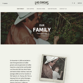 Ellipsis Digital - Ecommerce Marketer - Las Chicas del Cafe - Our Family