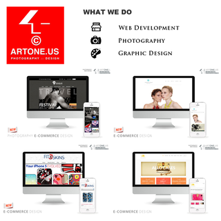 ART ONE VISUAL - Ecommerce Designer / Developer / Photographer / Setup Expert - ARTONE.US :: Shopify Expert
