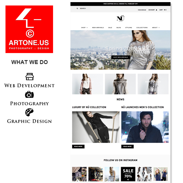 ARTONE.US :: Shopify Expert :: Product Photography
