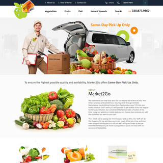 Graydian Technologies + Design - Ecommerce Designer / Setup Expert - Hartville Market2Go. Order your produce and pick it up the same day.