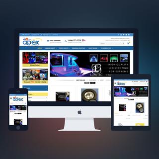 PSDCenter LLC - Ecommerce Designer / Marketer / Setup Expert - Apex Lighting Design