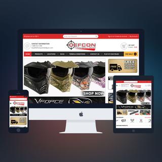 PSDCenter LLC - Ecommerce Designer / Marketer / Setup Expert - Defcon Paintball Design