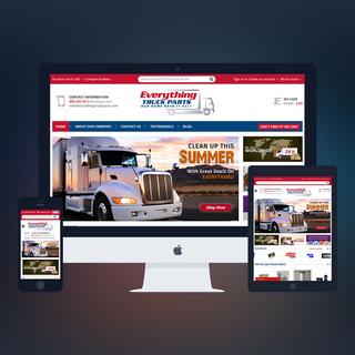 PSDCenter LLC - Ecommerce Designer / Marketer / Setup Expert - Everything Truck Parts Design