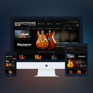 PSDCenter LLC - Ecommerce Designer / Marketer / Setup Expert - Wildwire Guitar Design