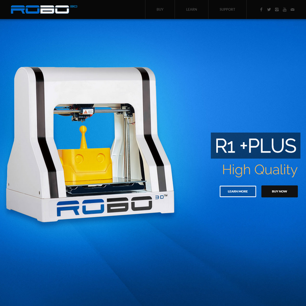 ROBO 3D Printers  (Launched on Kickstarter)