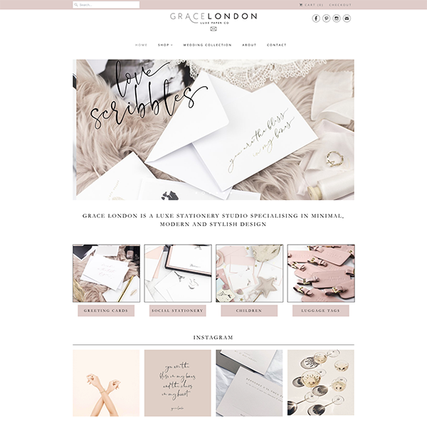 Grace London - https://www.gracelondonco.com - A minimal design lead site