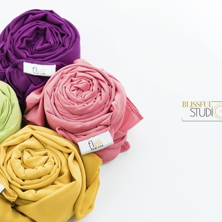 Scarves & Shawls Product Photography