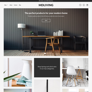 Loft Theme - Available on the Shopify Theme Store