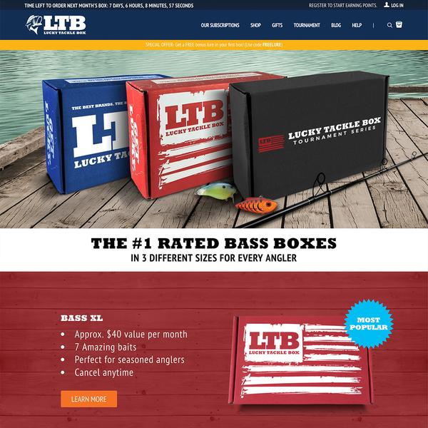 luckytacklebox.com