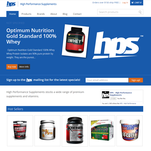 High Performance Supplements