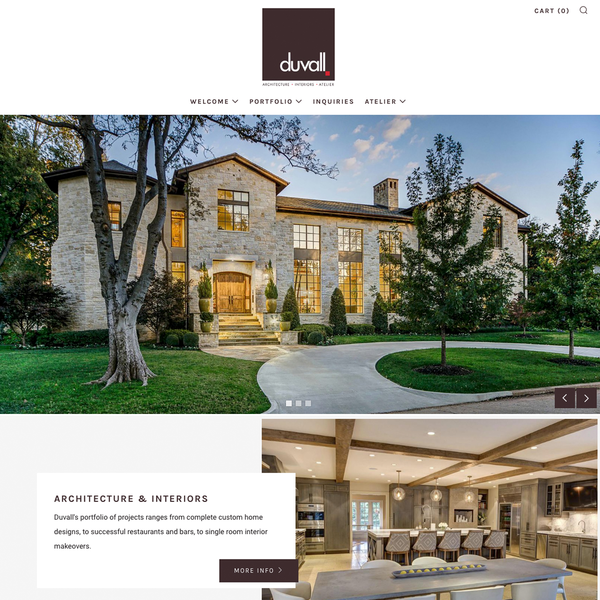 Duvall Atelier - Shopify Website