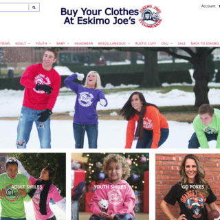 Eskimo Joe's Clothes - website