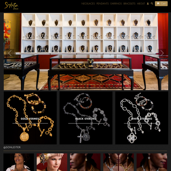 Sonleiter Jewelry - website and photography