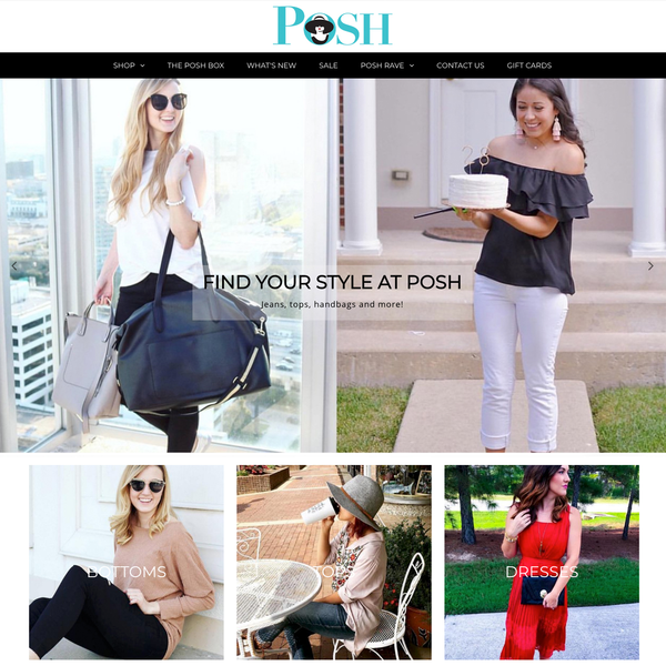 Posh Style Tulsa - website update