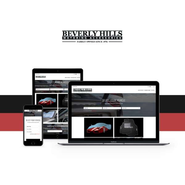 Beverly Hills Motoring (Theme Setup & Application Development)