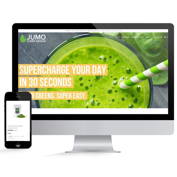 JUMO SuperGreens Development Store