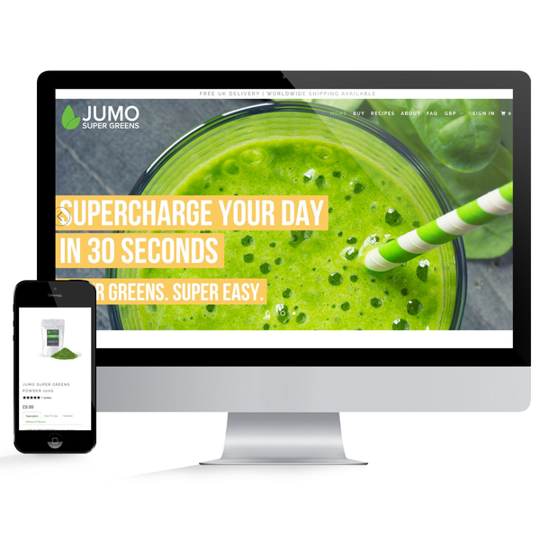 JUMO Super Greens Development Store
