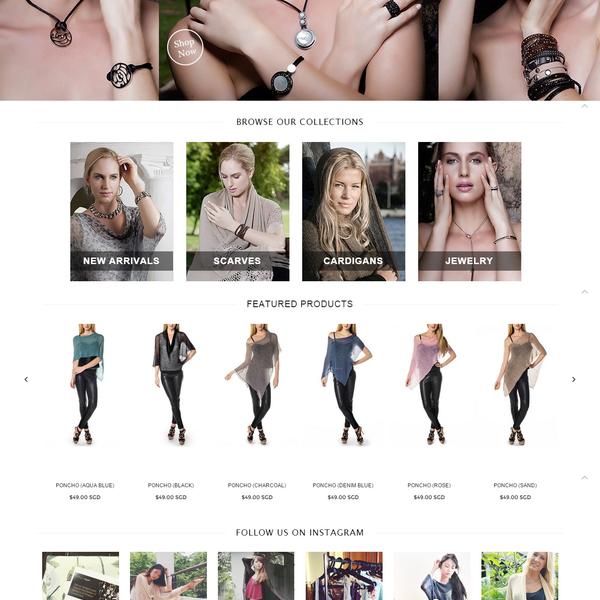 Freja Designs - Design customization, Shopify store set-up