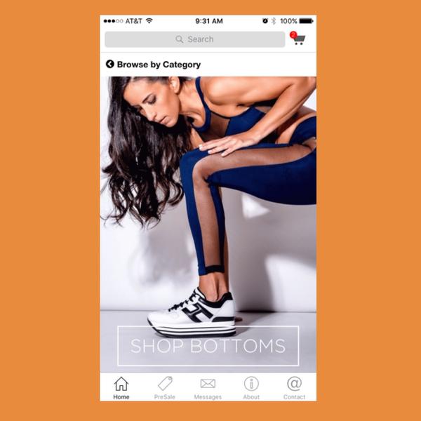 FitMama App Homepage